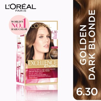 L'Oreal Paris Excellence Creme Hair Color 14g (No.6.30 Golden DarkBlonde) Price Philippines