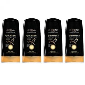LOreal Paris Hair Expert Total Repair 5 Restoring Conditioner, (Pack of 4) (Packaging May Vary) - intl