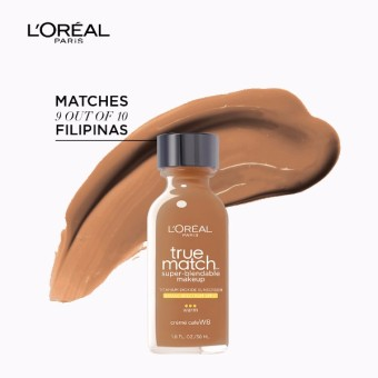 L'Oreal Paris True Match Liquid Foundation 30ml (W8 Creme Cafe) Price Philippines