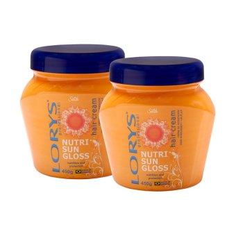 Lorys Nutri Sun Gloss Hair Cream 450g, Pack of 2