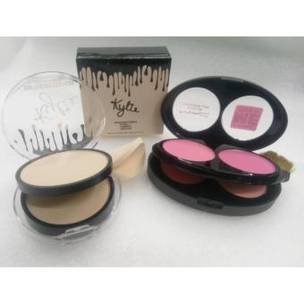 Mac 4 Color Blush On With Kylie 2in1 Powder Set Of 2