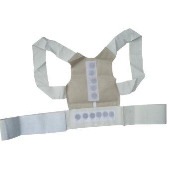 Magnetic Posture Humpback Support Corrector Belt Back Brace Strap(Size:L) - intl - 4