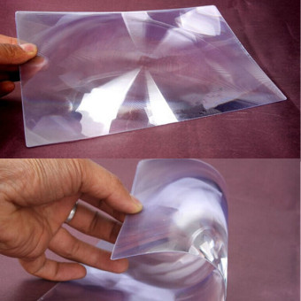 Magnifying Sheet Fresnel Lens 3X Magnification Magnifier - 3