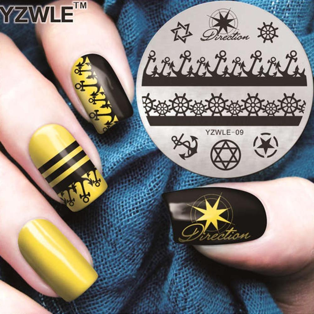 Philippines | Makiyo Charming Nail Art DIY Print Template Nails ...
