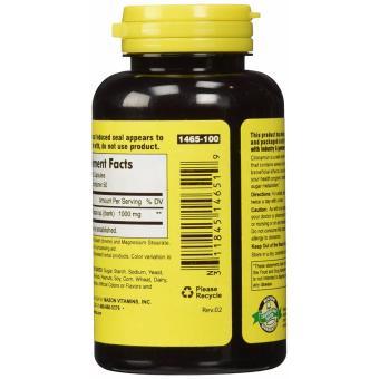 Mason Cinnamon 1000 mg 100 Capsules - 3