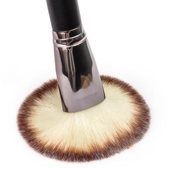 Matto 1pcs Makeup Brush Cosmetics Large Powder Brush for Face Make Up Tools Flawless Foundation Kabuki Brush (Black) - Intl - 4