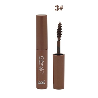 Maxdona Waterproof Eyebrow Mascara #3 (Dark Brown) Price Philippines