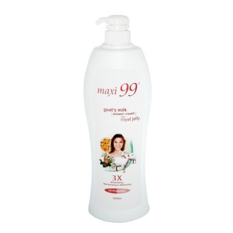 Maxi 99 Goat's Milk Shower Cream with Royal Jelly 1000ml