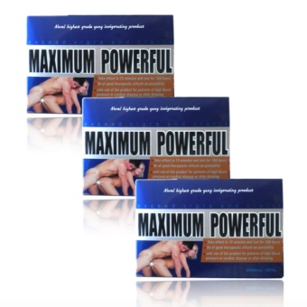 Maximum Powerful 2800mg Herbal Sex Enhancement Pills Bundle of 3with free rosy lip therapy 7g