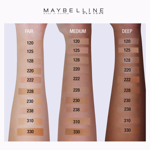Philippines | Maybelline Fit Me Matte Poreless Liquid