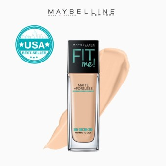 Maybelline Fit Me Matte Poreless Liquid Foundation - 128 Warm Nude
