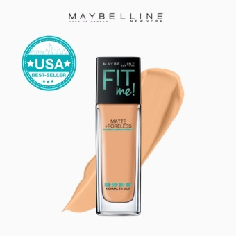 Maybelline Fit Me Matte Poreless Liquid Foundation - 230 Natural Buff