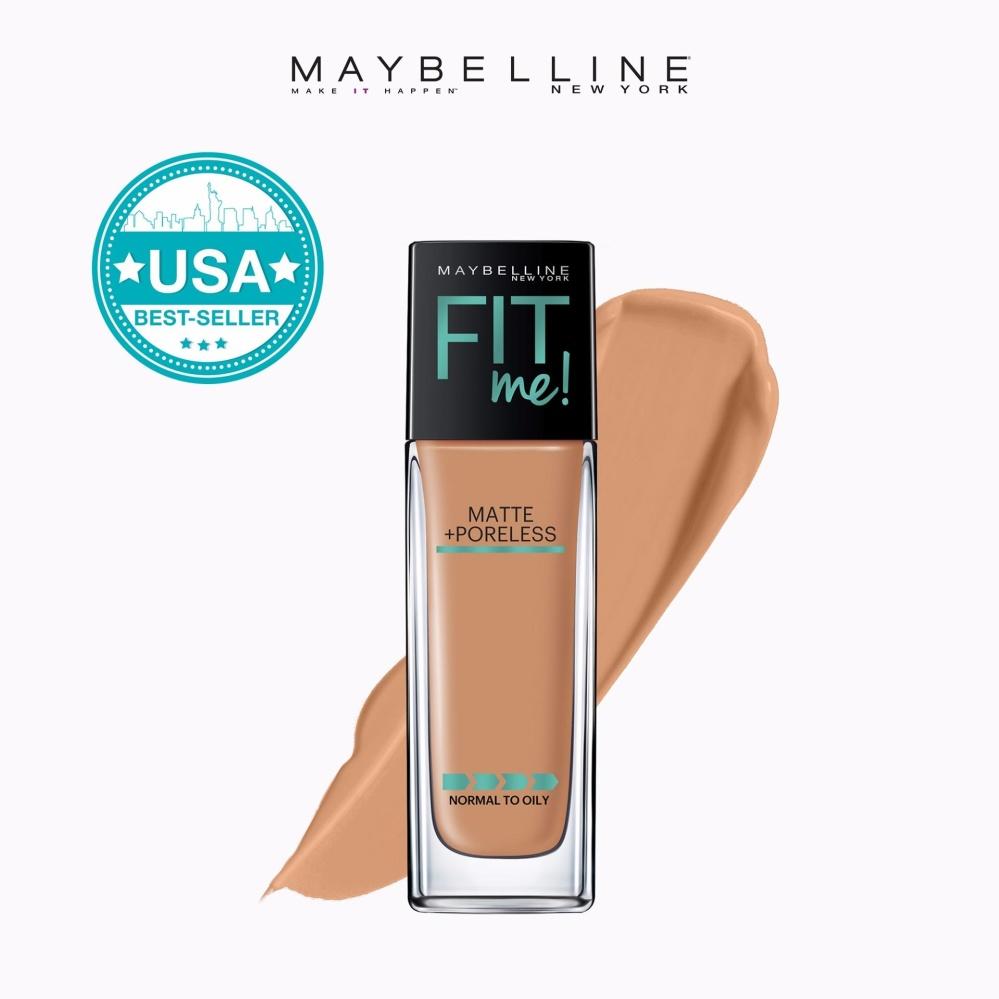 Maybelline Fit Me Matte Poreless Liquid Foundation 30 Ml 330 30ml Toffee Philippines