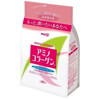 Meiji Amino Collagen Powder Drink in Refill 5000mg