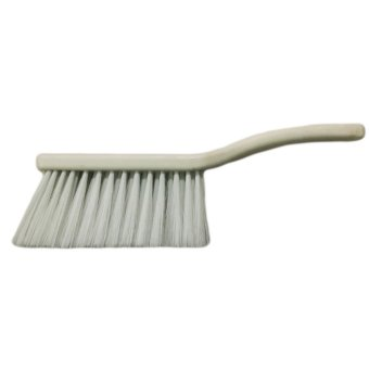 Meisons barbers brush for clearing hair (WHITE)
