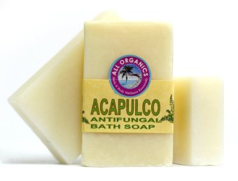 Milea  Organic  Acapulco  Antifungal  Soap  100mg  Set  of  3