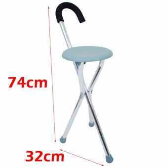 MK All new High quality Stainless steel Light weight Adult FoldingTripod Cane Portable Walking Stick With  sc 1 st  Harga Terkini Pasar Online Philipina June 2018 & Price List New Mk All New High Quality Stainless Steel Light Weight ...
