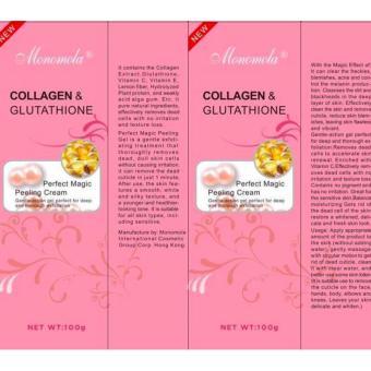 Monomola Collagen and Glutathione Peeling Cream Whitening (SET OF2) - 4