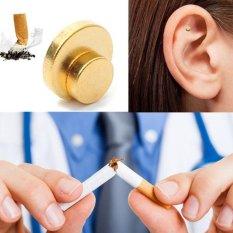 Moonar 2pcs Zero Smoke Auricular Therapy Quit Smoking Magnets intl