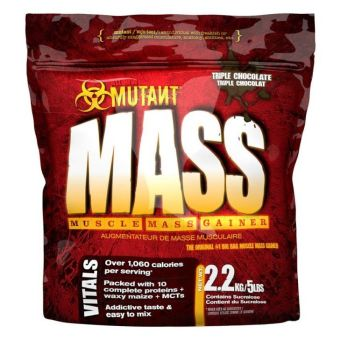 Mutant Mass Muscle Mass Gainer 5lbs (Triple Chocolate)