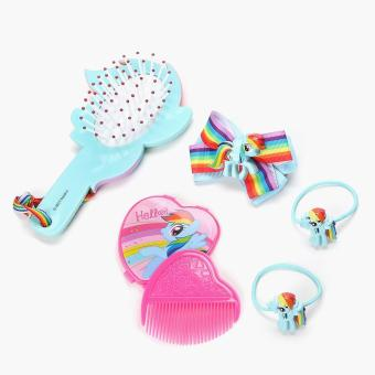 My Little Pony Girls Rainbow Dash Hair Accessories Set