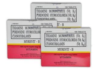 Myrevit B Complex Tablet Bundle of 3