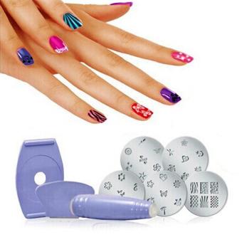 Nail art stamping kit lazada ph nail art stamping kit prinsesfo Gallery