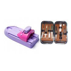 Keimav Nail Color Machine with Nail and Face Beauty Set Philippines