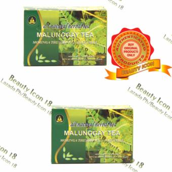 Namica Malunggay Herbal Tea Box of 30 tea bags By 2s