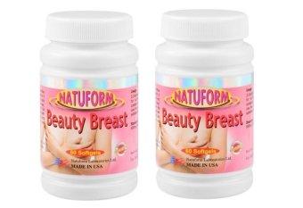 Natuform Beauty Breast Enhancer Bottle of 60 Set of 2(…)