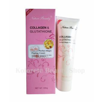 Nature Beauty Collagen and Glutathione Peeling Cream 100g Box of 1