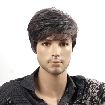 New Handsome Boys Wig Korean Fashion Men's Short False Hair Cosplay Wigs