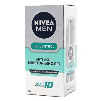 Nivea Men Oil Control Anti-acne Moisturizing Gel 50g