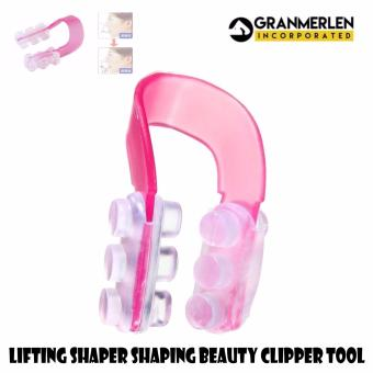 Nose Up Clip Lifting Shaper Shaping Beauty Clipper Tool (Pink)