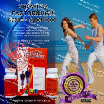 Nu-Beta Growing Factor & HGH Nature's Super Food For Girl Box Of 30 Tablets - 3