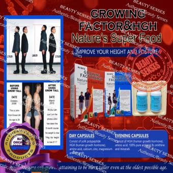 Nu-Beta Growing Factor & HGH Nature's Super Food For Girl Box Of 30 Tablets - 2