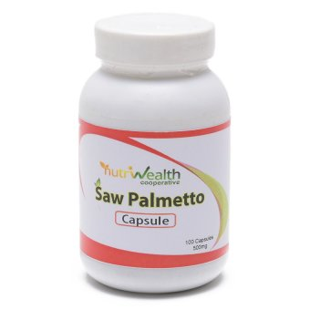 NutriWealth Saw Palmetto++ 500mg Capsule Bottle of 100 Price Philippines