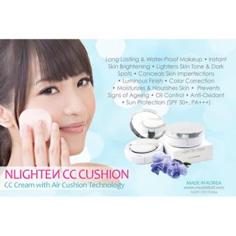 Nworld Nlighten CC Cushion with FREE Nlighten Kojic Papaya with Glutathione Soap - 2