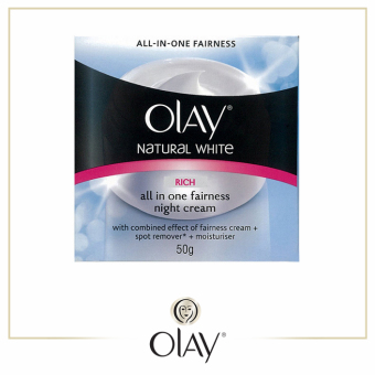 Olay Natural White Rich Night Cream 50g