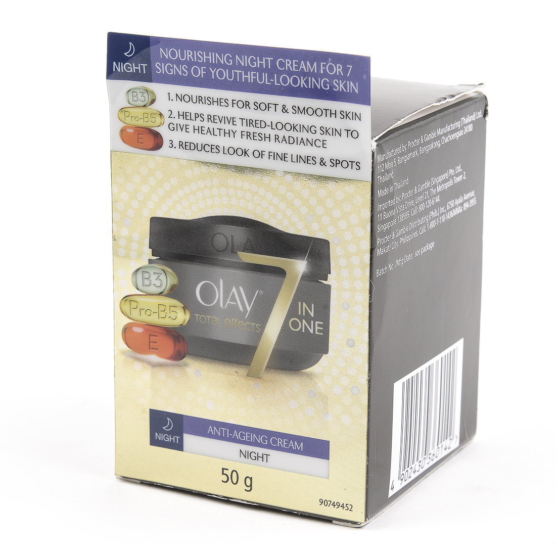 Philippines Olay Te Anti Ageing Night Crm 50g Lowest Prices In The Total Effects 7 One Cream 50gr