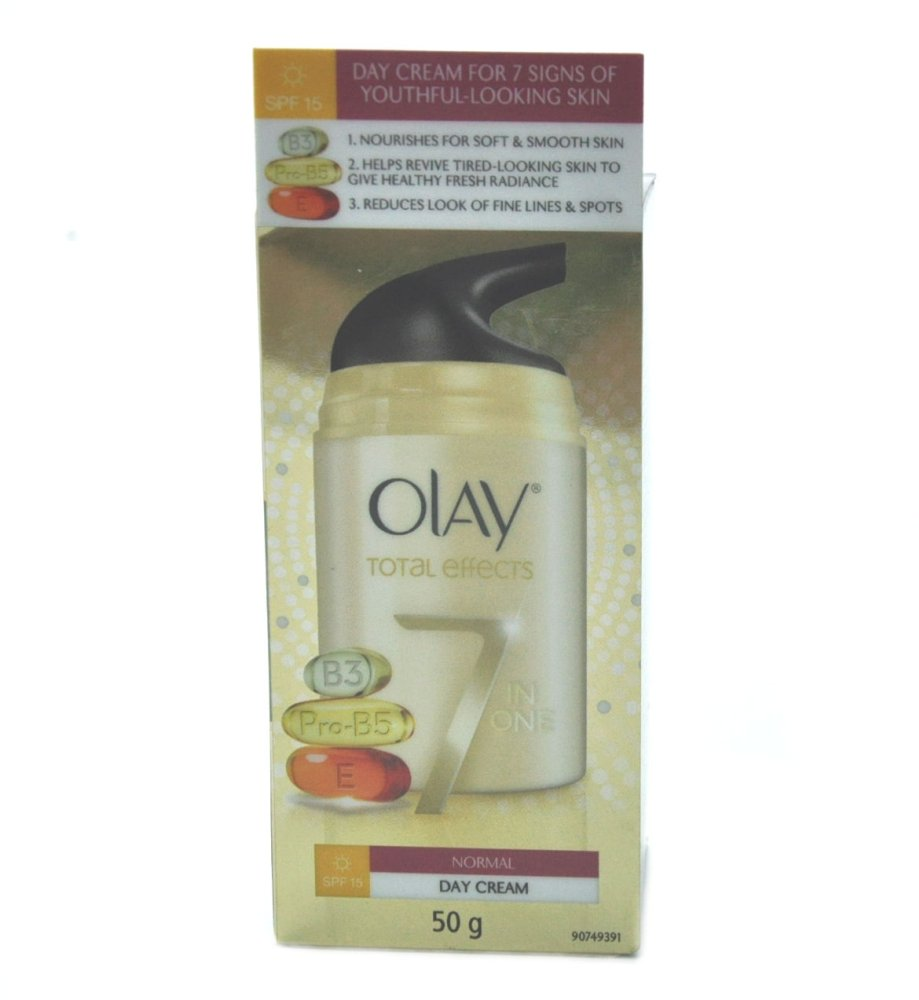 Philippines Olay Total Effects 7 In 1 Day Cream Normal Spf 15 50g Effect Foaming Cleanser 50gr