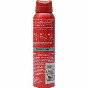 Old Spice Wild Collection Refresh Bearglove Body Spray 3.75oz - 2
