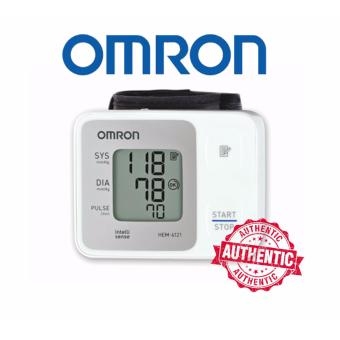 Omron Wrist Blood Pressure Monitor (HEM-6121) BP App