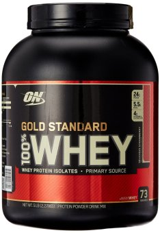 Optimum Nutrition 100% Whey Gold Standard Delicious Strawberry2.27kg Price Philippines