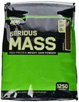 Optimum Nutrition Serious Mass 12lbs (Chocolate) Price Philippines