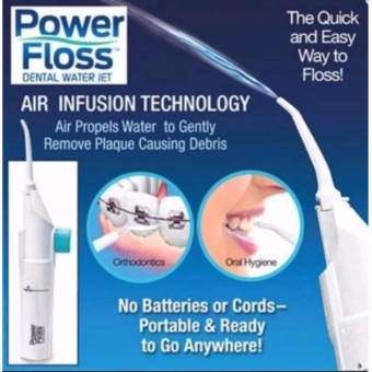 Oral Irrigator Dental Water Jet Floss Pick Teeth Cleaning FlusherAir Powered