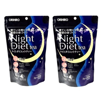 Orihiro Night Diet Tea 20's Set of 2 | Lazada PH