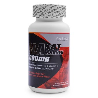 OXILEAN CLA Fat Burner 1000mg Softgels Bottle of 60