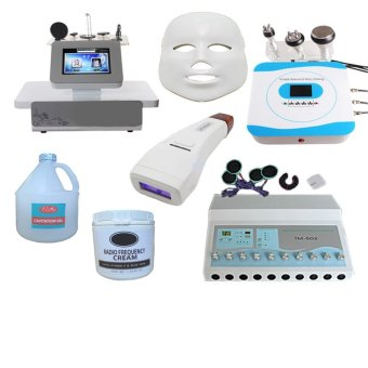 Package Full Set Slimming Machine with Beauty Care