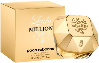 Paco Rabanne Lady Million for Women EDP 80mL - picture 2